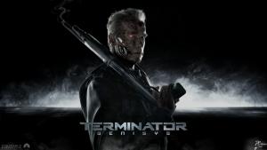 """Arnold, choć w formie, nie uratował nowego """"Terminatora""""."""