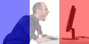 Mam flagę Francji na profilowej – jestem idiotą.