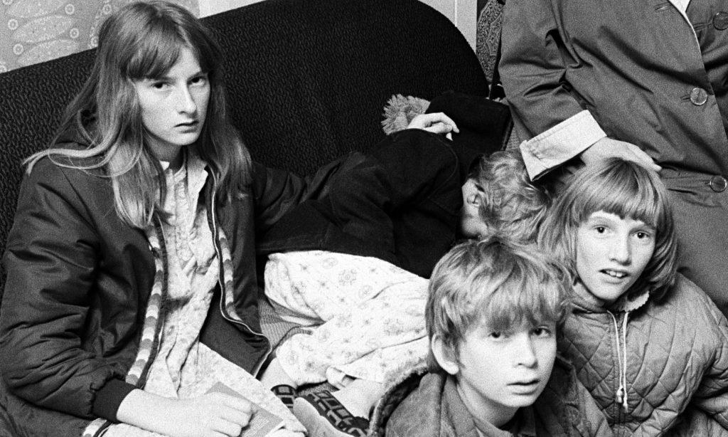 Rodzina Hodgsonów - zdjęcie archiwalne.