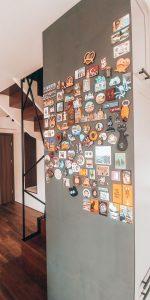 Magnesowa ściana – czyli nasze domowe dzieło sztuki